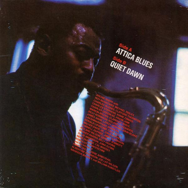 """Archie Shepp - Attica Blues / Quiet Blues (7"""") (Back)"""