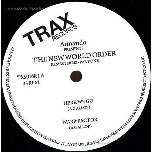 Armando - New World Order - Remastered Part One
