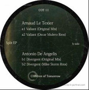 Arnaud Le Texier / Antonio De Angelis - Split Ep (Oscar Mulero, Mike Storm Rmx)