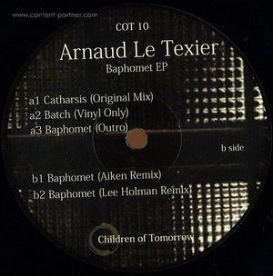 Arnaud Le Texier - Baphomet Ep (Aiken Rmx, Leee Holman Rmx)