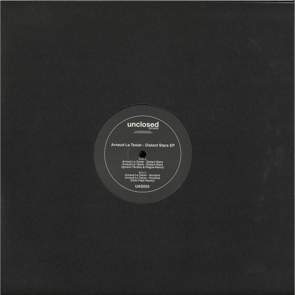 Arnaud Le Texier - Distant Stars EP (Back)