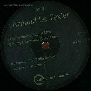 Arnaud Le Texier - Equanimity EP Zadig rmx