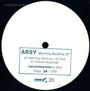 Arsy - Morning Machine EP