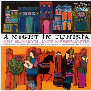 Art Blakey & The Jazz Messengers - A Night In Tunisia (LP reissue)