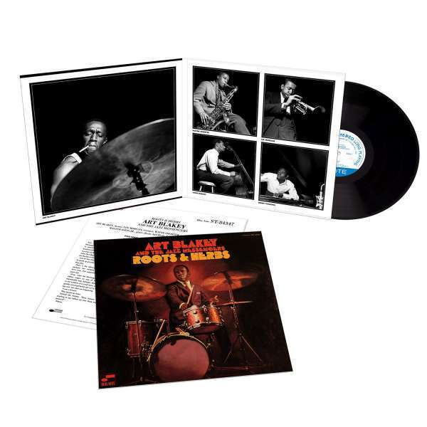 Art Blakey & The Jazz Messengers - Roots And Herbs (Tone Poet Vinyl) (Back)