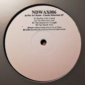 As Far As I Know - Chaotic Behaviour EP