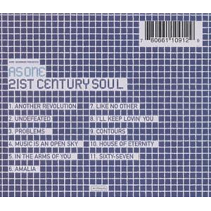 As One - 21st Century Soul (Back)