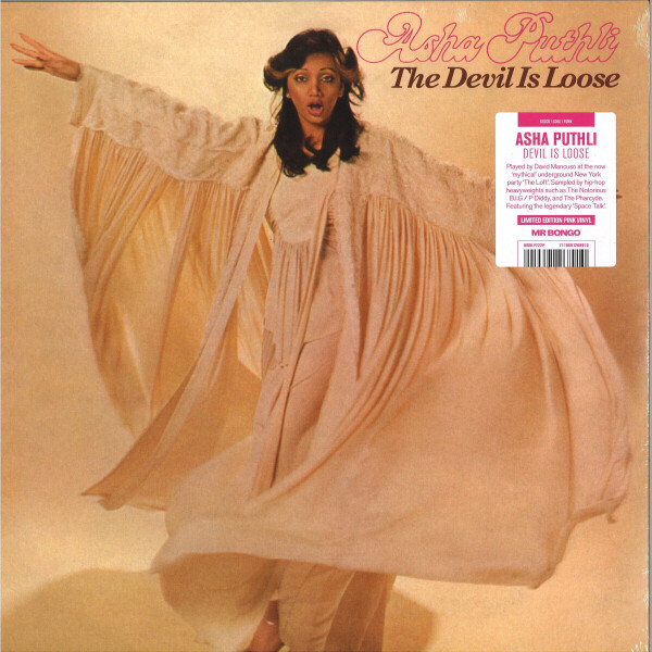 Asha Puthli - Devil is Loose (Pink Vinyl LP Reissue)