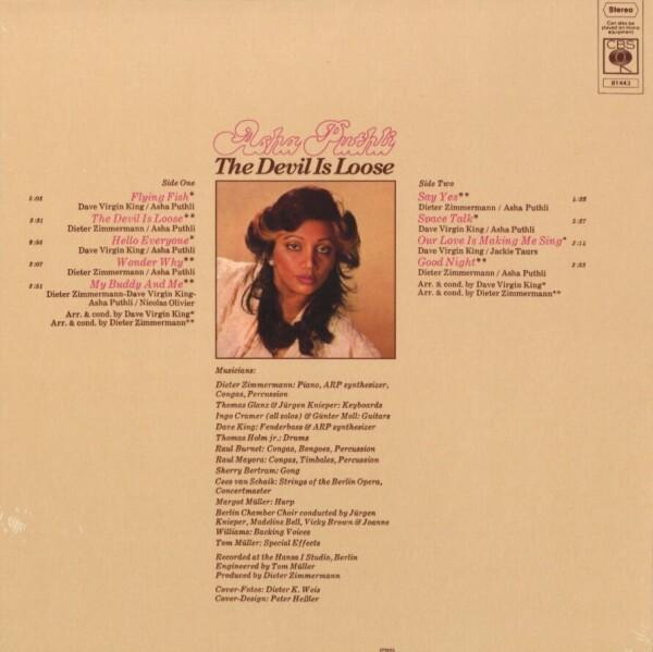 Asha Puthli - Devil is Loose (Vinyl LP Reissue)) (Back)