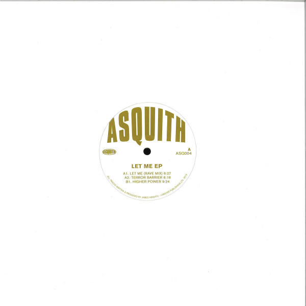 Asquith - Let Me EP (Gold Repress)