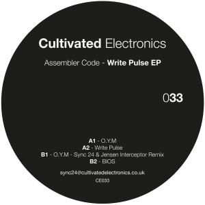 Assembler Code - Write Pulse EP (Back)