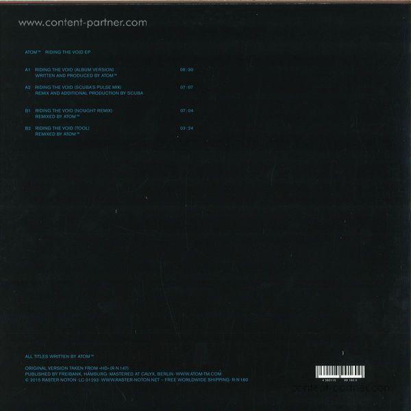 Atom TM - Riding The Void (Scuba / Nought Remix) (Back)