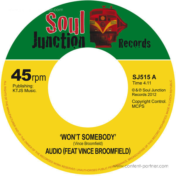 Audio (featuring) Vince Broomfield - Won't Somebody (back in)