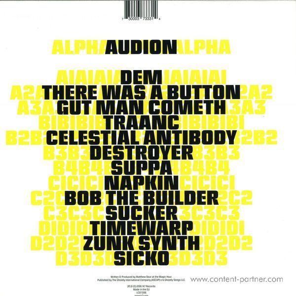 Audion - Alpha (Back)