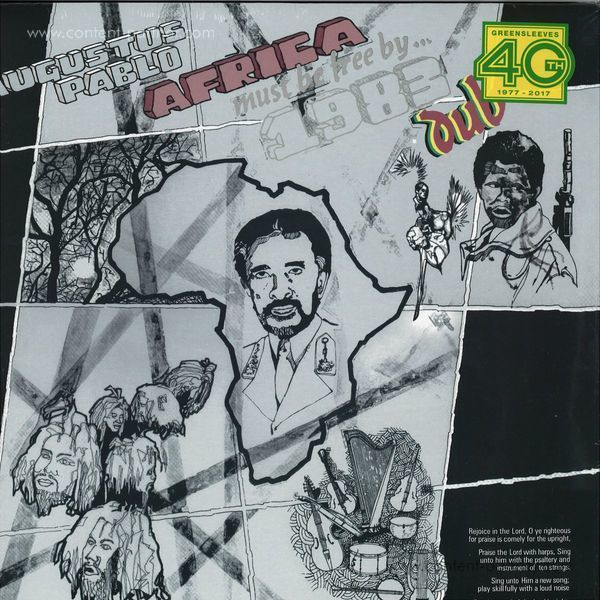 Augustus Pablo - Africa Must Be Free By 1983 Dub (Reissue) (Back)