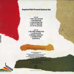 Augustus Pablo - Eastman Dub (Back)