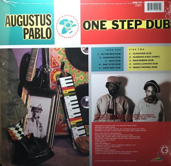Augustus Pablo - One Step Dub (Reissue) (Back)