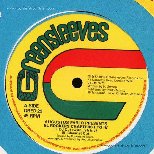 Augustus Pablo - Presents: El Rockers Chapter I To IV (Back)