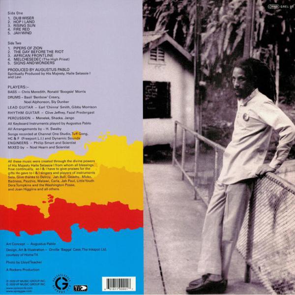 Augustus Pablo - Rising Sun (Back)