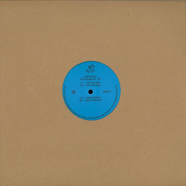 Austin Ato - The Sound Of - EP (Back)