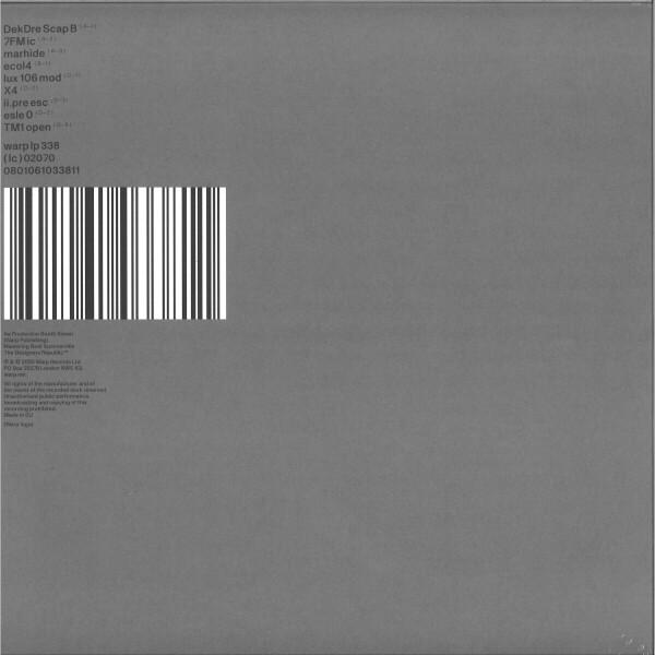 Autechre - PLUS (2LP+MP3) (Back)