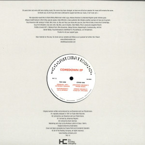 Automation - Comedown (Back)