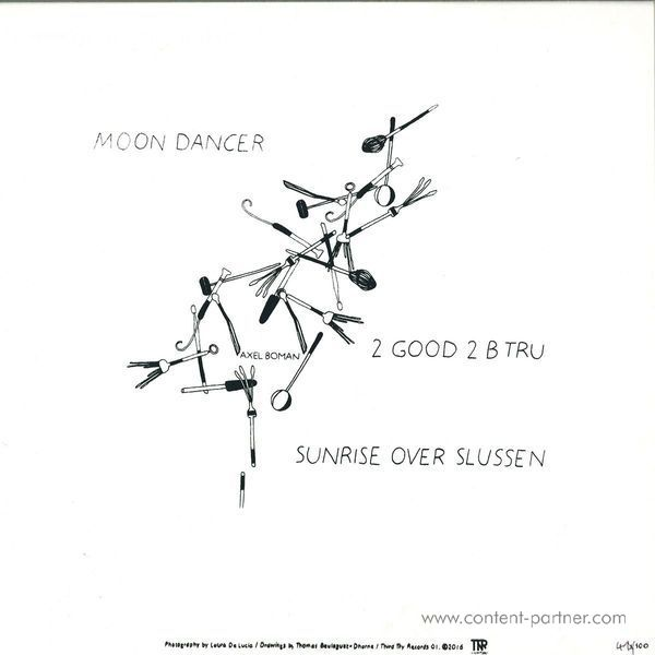 Axel Boman - Moon Dancer EP (Back)