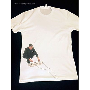 Axis - Exhibitionist 2 T-Shirt - T-shirt White (Jef Mills / Axis Logo) L