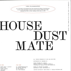 Ayce Bio and Prev - House Dust Mate (Back)
