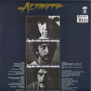 Azymuth - Aguia Nao Come Mosca (Reissue 2019) (Back)