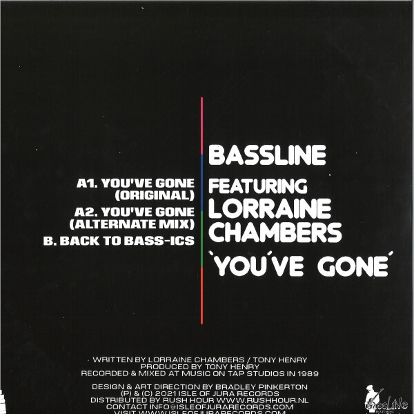 BASSLINE FEATURING LORRAINE CHAMBERS - YOU'VE GONE (Back)