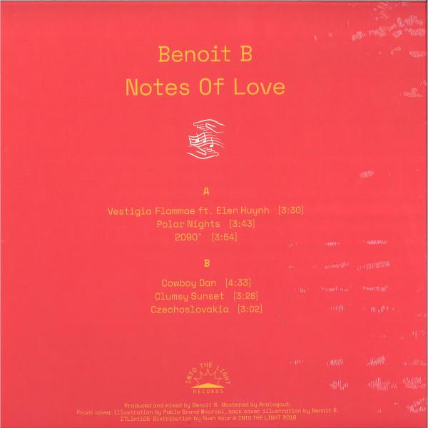 BENOIT B - NOTES OF LOVE (Back)