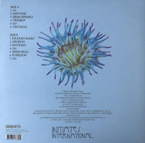 Baast - Trident (LP) (Back)