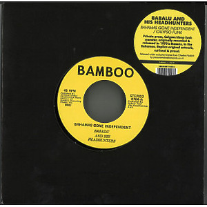 Babalu And His Headhunters - Bahamas Gone Independent / Calypso Funk