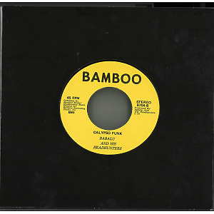 Babalu And His Headhunters - Bahamas Gone Independent / Calypso Funk (Back)