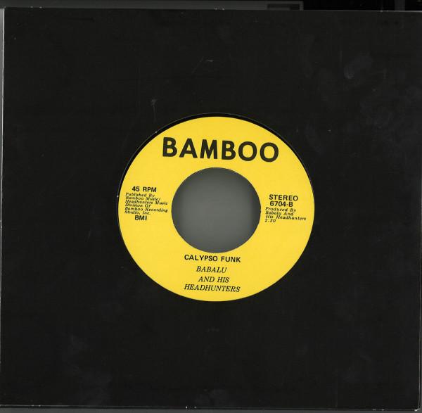 Babalu And His Headhunters - Bahamas Gone Independent / Calypso Funk (Back)