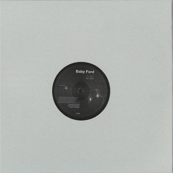 "Baby Ford - Bford 08 (repress) (140 gram vinyl 12"") (Back)"