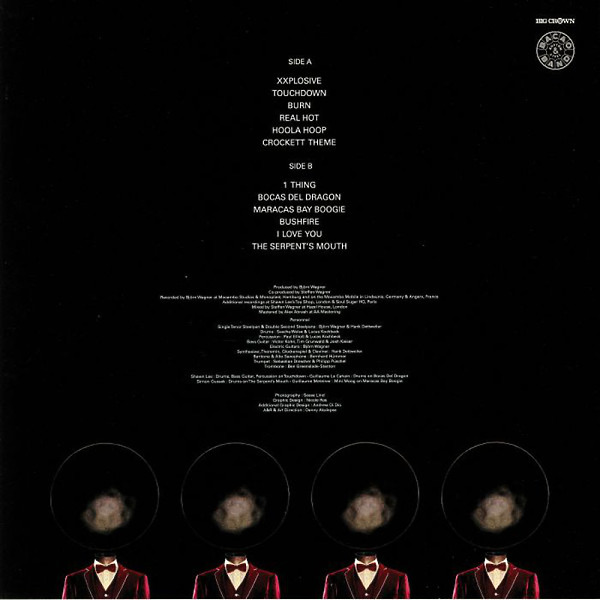 Bacao Rhythm & Steel Band - The Serpent's Mouth (LP) (Back)