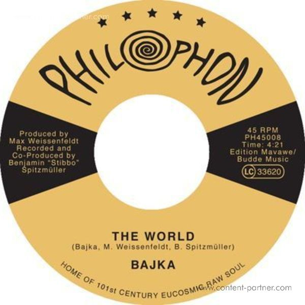 "Bajka - The World / Invisible Joy (7"")"