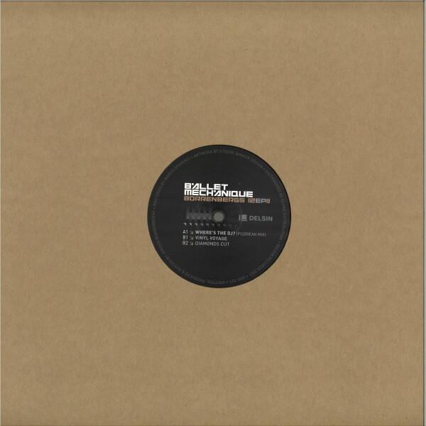 Ballet Mechanique - Borrenbergs 12 EP II (Back)