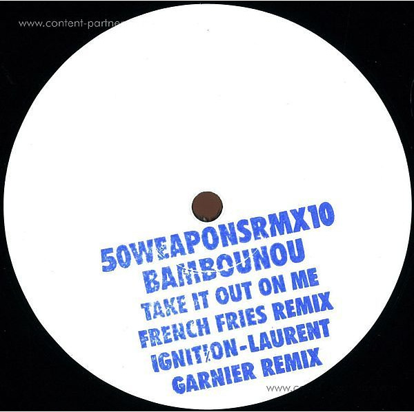 Bambounou - French Fries & Garnier Remixes (Back)