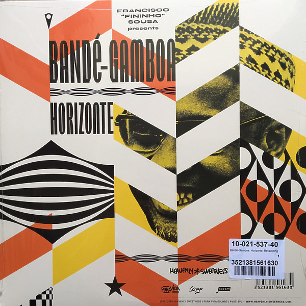 Bande-Gamboa (Presented by GUTS) - Horizonte - Revamping Rare Gems From... (2LP) (Back)