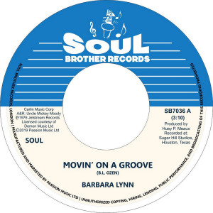 Barbara Lynn - Movin' On A Groove/Disco Music
