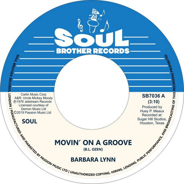 Barbara Lynn - Movin' On A Groove/Disco Music