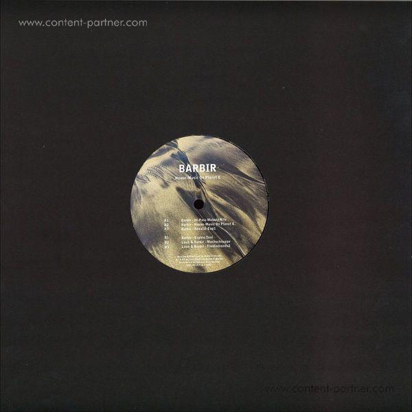 Barbir - House-Music On Planet E (Back)