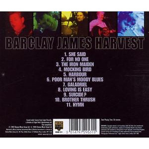 Barclay James Harvest - Best Of Live,Very (Back)