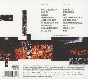 Barclay James Harvest - Glasnost (Remastered+Expanded 2CD Edit.) (Back)