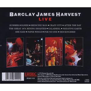 Barclay James Harvest - Live (Remastered) (Back)