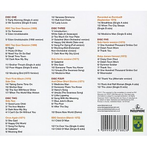 Barclay James Harvest - Taking Some Time On: The Parlo (Back)