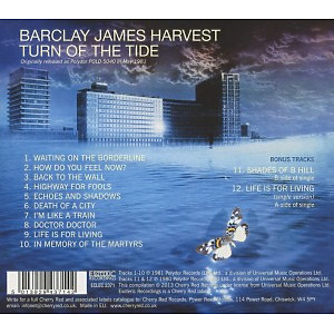 Barclay James Harvest - Turn Of The Tide (Expanded+Remastered) (Back)